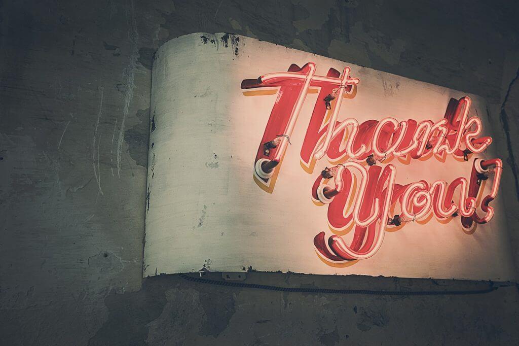 Dankeschön Pixabay RyanMcGuire 1024x682 - Dankbarkeit und was Zitronen damit zu tun haben