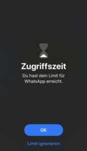 Zugriffszeit iOS e1576185292502 174x300 - Digital Detox Tipps - 10 kreative Wege zu mehr Offline